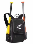 Easton Equipment E100P Black Backpack Smaller size, Ideal for youth player