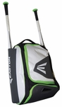 Easton E200P Bat Pack - Black / Torq Green