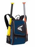 Easton Equipment E100P Black/Navy Backpack Smaller size, Ideal for youth player