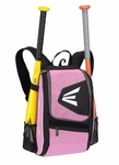 Pink Only Easton Equipment E100P Black/Pink Backpack Smaller size, Ideal for youth player