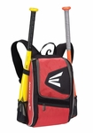 Easton Equipment E100P Black/Red Backpack Smaller size, Ideal for youth player