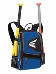 Easton Equipment E100P Black/Royal Backpack Smaller size, Ideal for youth player