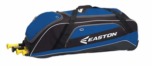 Easton Equipment E500W Black/Royal Wheeled Bag