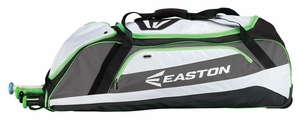 Easton Equipment E500W Black/Torq Green Wheeled Bag