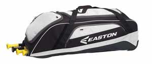 Easton Equipment E500W Black/White Wheeled Bag