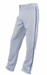 Easton Adult Grey/Navy Rival Piped Pants A164561