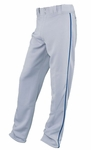 Easton Adult Grey/Royal Rival Piped Pants A164561