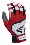 Easton HS VRS Adult Batting Glove - Red/White
