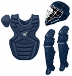 Easton M7 Navy Youth Catcher's Set W/ Rival Helmet