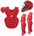 Easton M7 Red Youth Catcher's Set W/ Rival Helmet