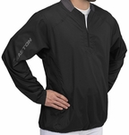 Easton Magnet Long Sleeve Batting Jacket - Black