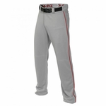 Easton Mako II Grey/Red Piped Pant