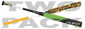 Easton Mako Torq Brett Helmer SP16MLA and Combat Casey Rogowski TCRSP4 (2016) 2-PACK