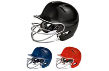 Easton Natural Adult Solid Batting Helmets With Mask