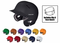 Easton Natural Grip Solid Adult Batting Helmets w/ RIP-IT Mask