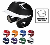 Easton Natural Grip Two Tone Adult Batting Helmets w/ RIP-IT Mask