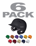 Easton Natural Grip Solid Youth Batting Helmets - 6-Packs
