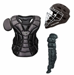 Easton Natural Intermediate Catchers Set - Black