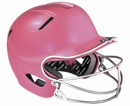 Easton Natural Youth Batting Helmet with Mask -- Pink ONLY -  Fits 6 3/8th's to 7 1/8