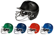 Easton Natural Youth Solid Batting Helmets With Mask