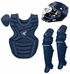 Easton Navy Intermediate Catcher's Set w/ Large Helmet Ages 13-15