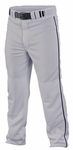 Easton Quantum Plus Piped Pants - Grey / Navy
