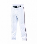 Easton Quantum Plus Piped Pants Adult/Youth White/Maroon #6048229