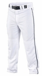 Easton Quantum Plus Piped Pants Adult/Youth White/Navy A164617