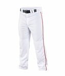 Easton Quantum Plus Piped Pants White/Red A164617