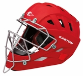 Easton Red Stealth Speed Elite Catchers Helmet