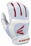 Easton Stealth Core Fastpitch Batting Glove WH/RD