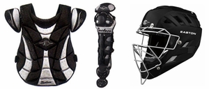 Easton Synergy Fastpitch Youth Combo with Natural Helmet