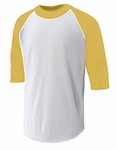 Easton Yellow Three Quarter Shirt A164315