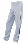 Easton Youth Grey/Black Rival Piped Pants A164561