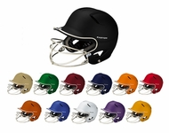 Easton Youth Natural Grip Solid Batting Helmets with Mask A168034