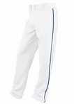 Easton Youth White/Navy Rival Piped Pants A164561