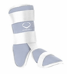 EvoShield Fastpitch Batter's Leg Guard - Grey
