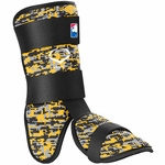 EvoShield Gold/Grey/Black Batter's Leg Guard A110MLB