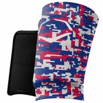 EvoShield Protective Wrist Guard Red/Blue/White A150