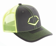 "EvoShield ""Trucker"" Baseball Hat Black / Neon"