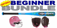 Girl's Beginner Softball Bundle