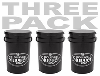 Louisville Slugger Ball Bucket ACBLBK6-BBKBK 3-PACK