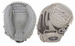 Louisville Slugger HD9 Hybrid Defense Baseball Fielding Glove Catcher's Mitt Grey FGHD14-GYCM1