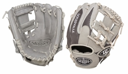 Louisville Slugger HD9 Hybrid Defense Baseball Fielding Glove Grey FGHD14-GY112