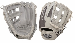 Louisville Slugger HD9 Hybrid Defense Baseball Fielding Glove Grey FGHD14-GY117