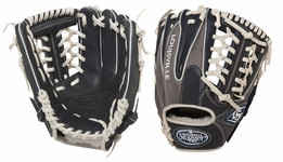 Louisville Slugger HD9 Hybrid Defense Baseball Fielding Glove Navy/Grey FGHD14-NG115