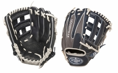 Louisville Slugger HD9 Hybrid Defense Baseball Fielding Glove Navy/Grey FGHD14-NG117