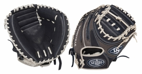 Louisville Slugger HD9 Hybrid Defense Baseball Fielding Glove Catcher's Mitt Navy/Grey FGHD14-NGCM1
