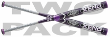 Louisville Slugger Xeno Fastpitch Bat -10oz FPXN14-RR 2014 2-Pack