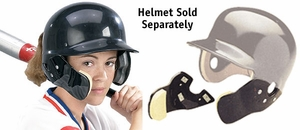 Markwort C-Flap Cheek and Jaw Guard - Helmet Not Included